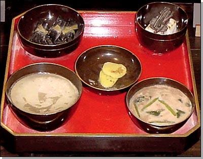 江戸時代の町人や農民の食事